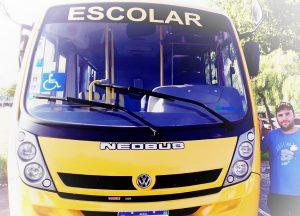 Município recebe novo ônibus escolar para 2020